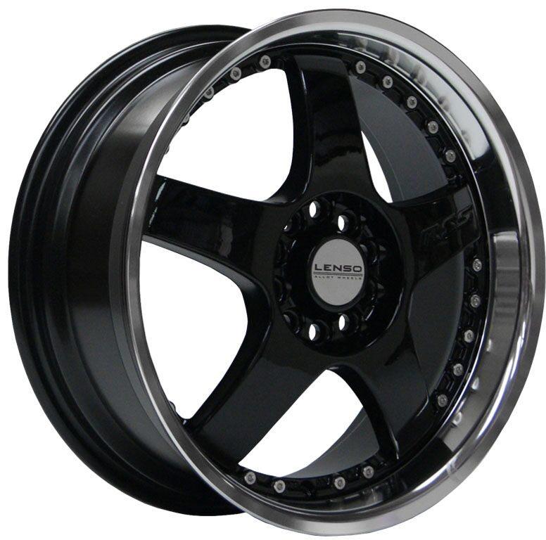 Lenso - RS5 (Black / Mirror Lip)