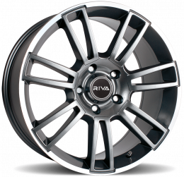RIVA - ATV (Gloss Grey / polished Lip)