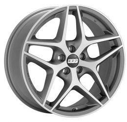 BBS - CF (Satin Anthracite With Polished Face)