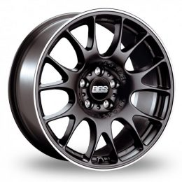 BBS - CH (Satin Black with Stainless Steel Rim Protector)