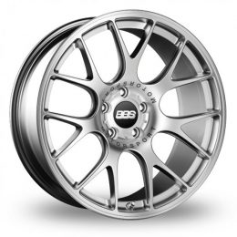 BBS - CH-R (Brilliant Silver With Stainless Steel Rim Protector)