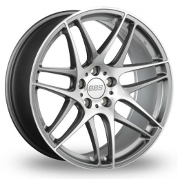 BBS - CX-R (Gloss Anthracite With Diamond Cut Face)