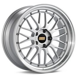 BBS - Le-Mans (Forged Split Rim) Lm (Decor Silver With Polished Rim)