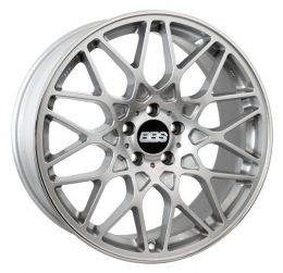 BBS - RX-R (Brilliant Silver With Stainless Steel Rim Protector)