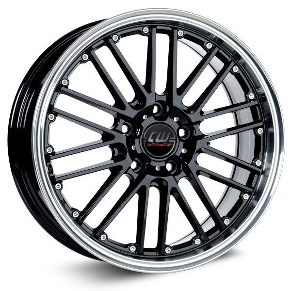 Borbet - CW2 (Black Rim Polished)