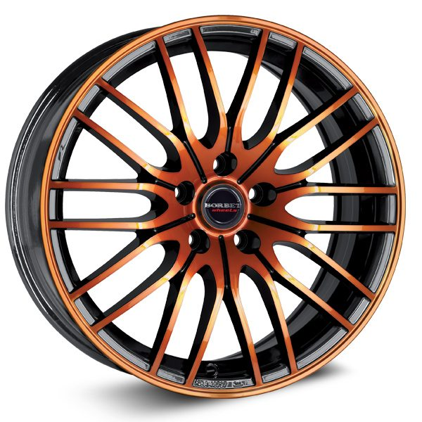 Borbet - CW4 (Black Orange Glossy)