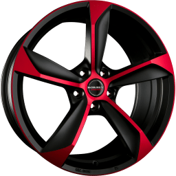 Borbet - S (Black Red Matt)