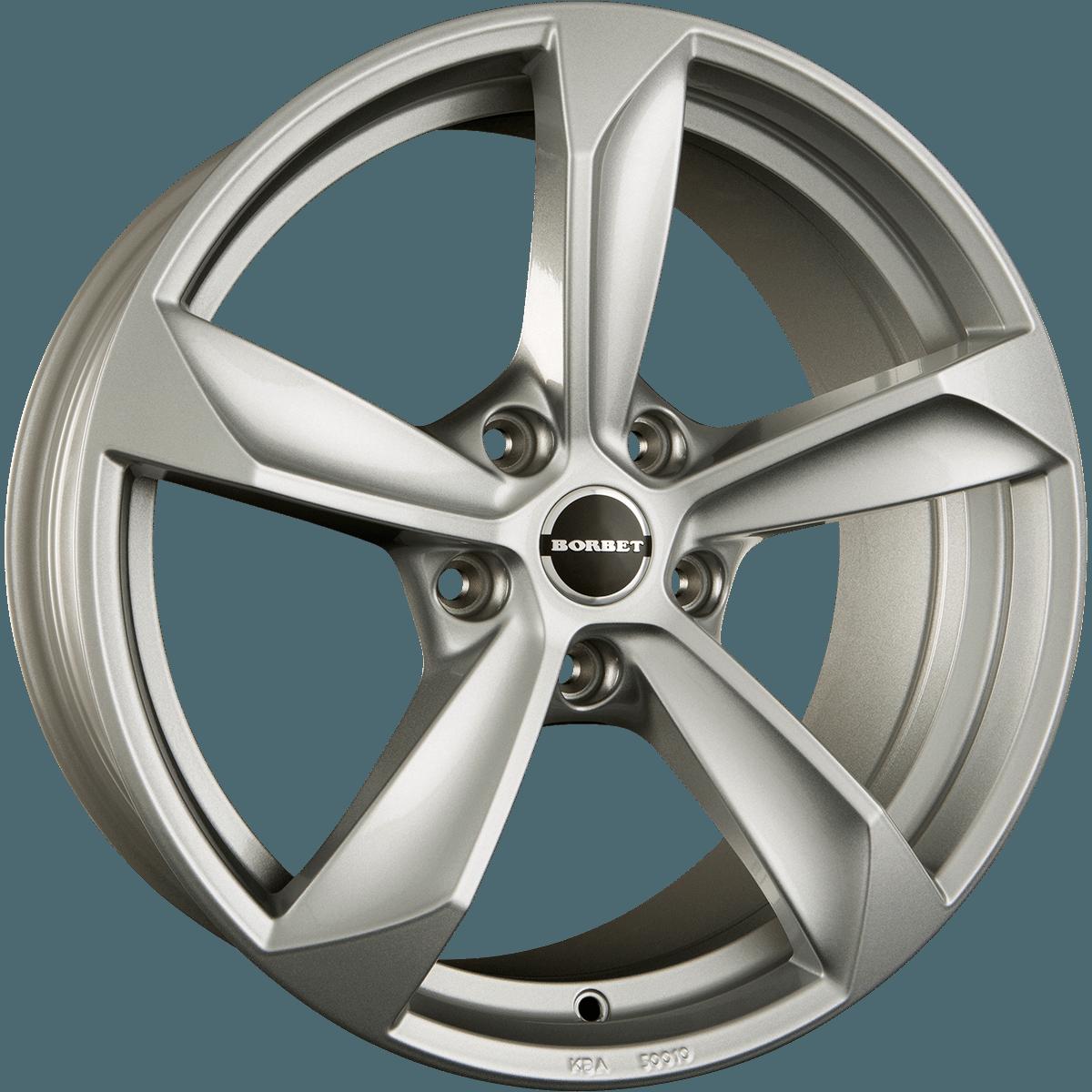 Borbet - S (Brillant Silver)