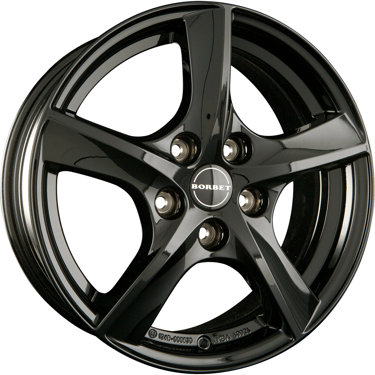 Borbet - TL (Black Glossy)