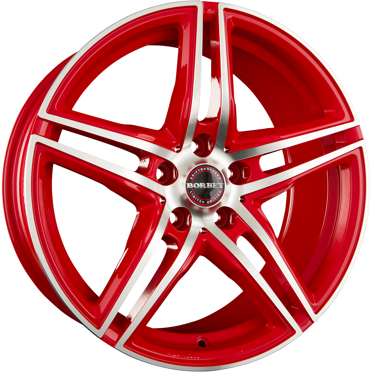 Borbet - XRT (Racetrack Red Polished)