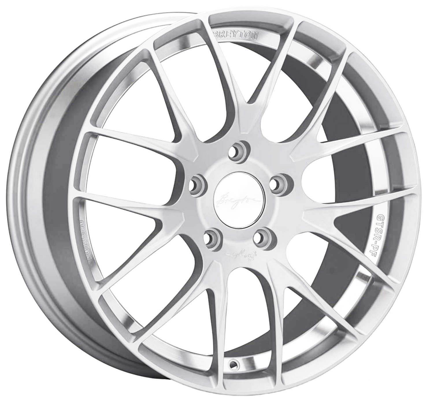 Breyton - GTSR-PF (Silver Anodised)