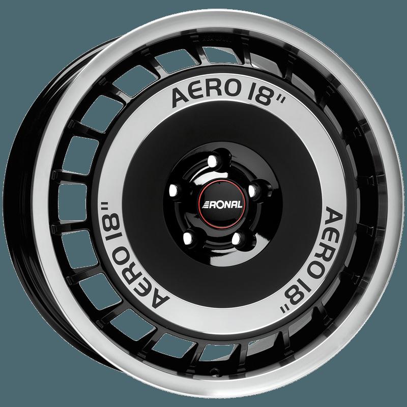 Ronal - R50 Aero (Schwarz-Frontkopiert)