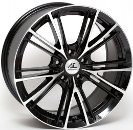 AC Wheels - FF004 (Black Polished)