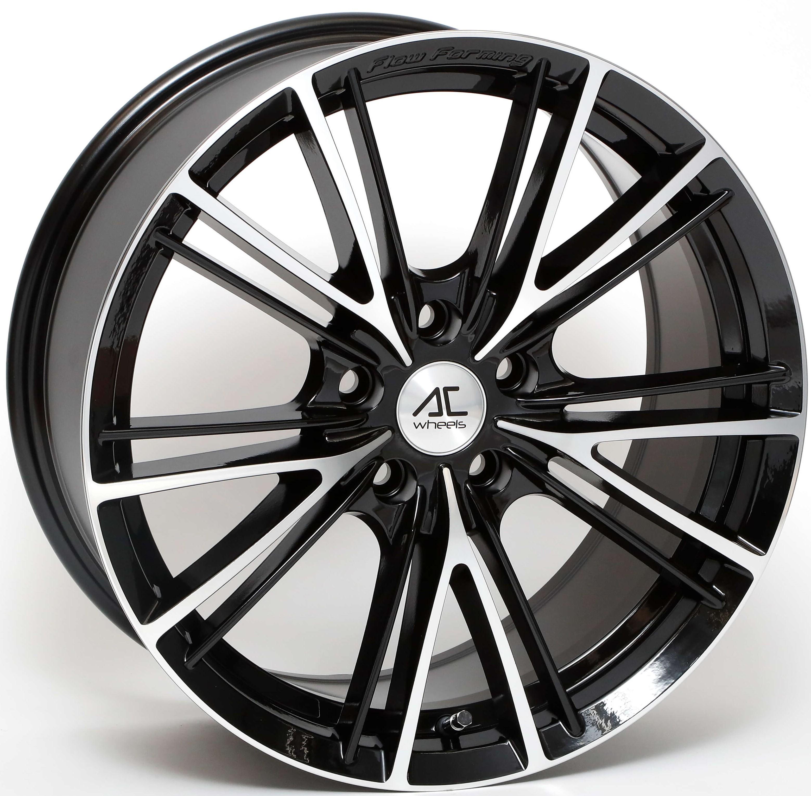 AC Wheels - FF004 (Black Polished)