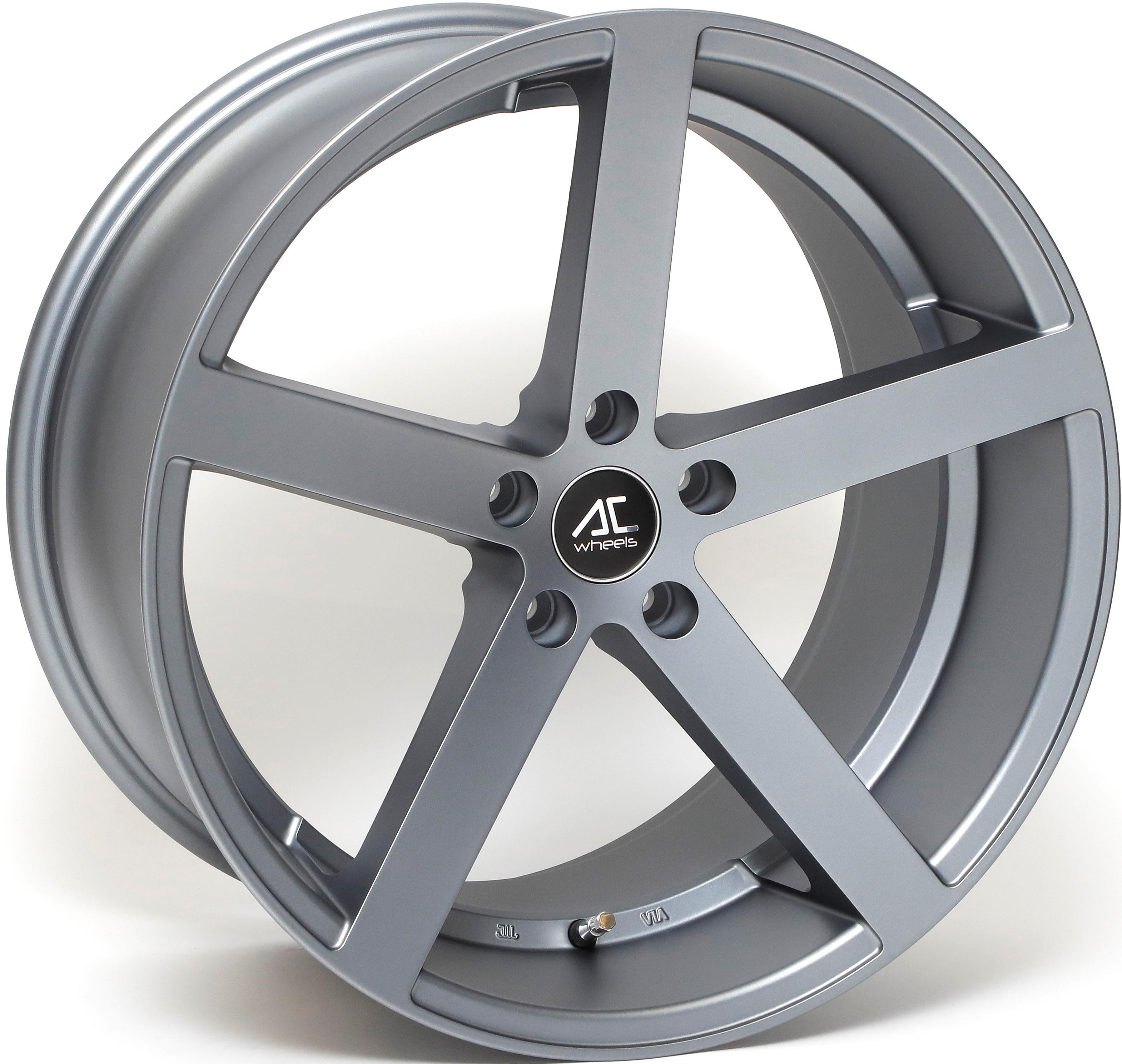 AC Wheels - Star 5 (Matt Grey)