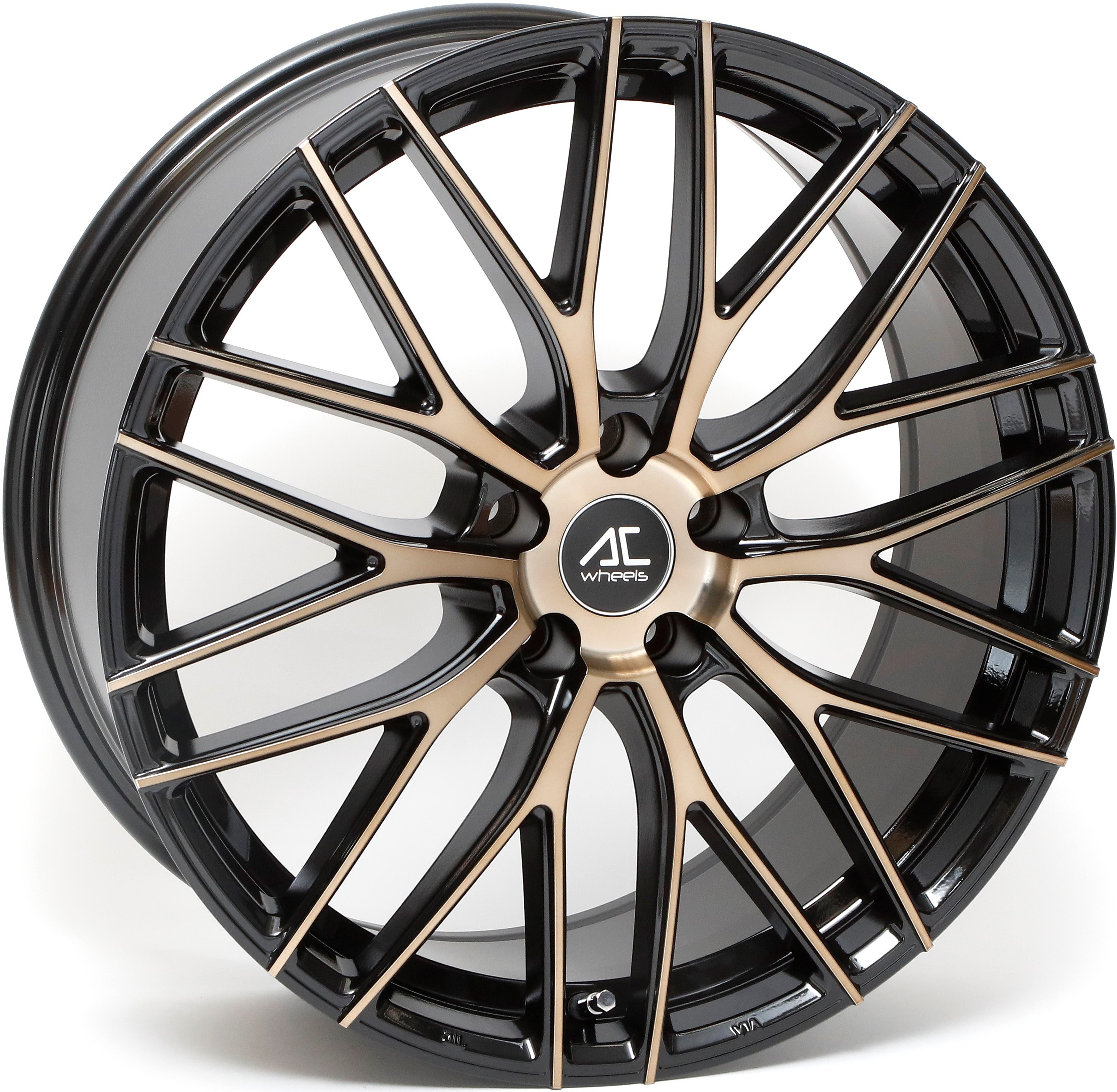 AC Wheels - Syclone (Black Polished Bronze)