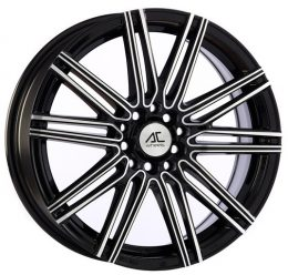 AC Wheels - Volt (Black Polished)
