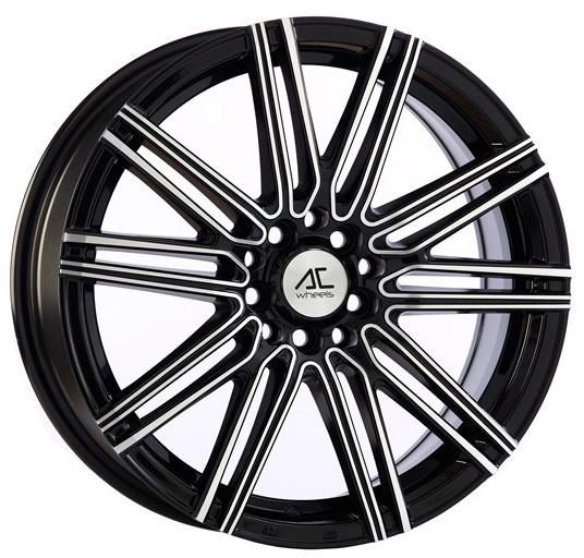 AC Wheels - Volt (Black Polished)