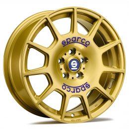 Sparco - Terra (Race Gold Blue Lettering)