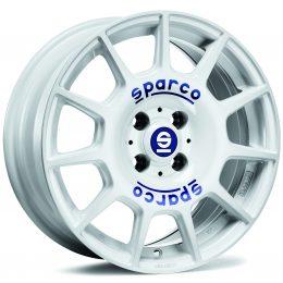 Sparco - Terra (White Blue Lettering)