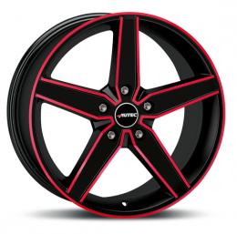 Autec - Delano (schwarz matt rot elox)