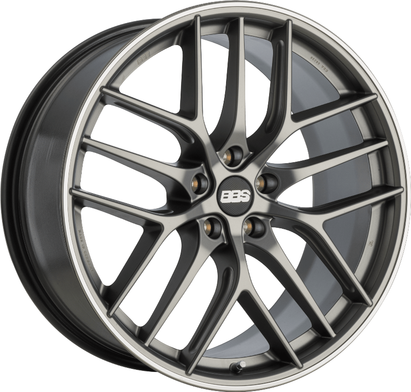 BBS - CC-R (Satin Anthracite with Stainless Steel Rim Protector)