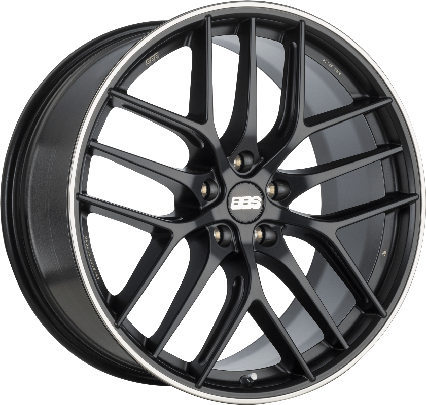 BBS - CC-R (Satin Black with Stainless Steel Rim Protector)
