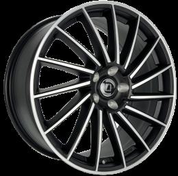 Diewe Wheels - Briosa (Nero machined)