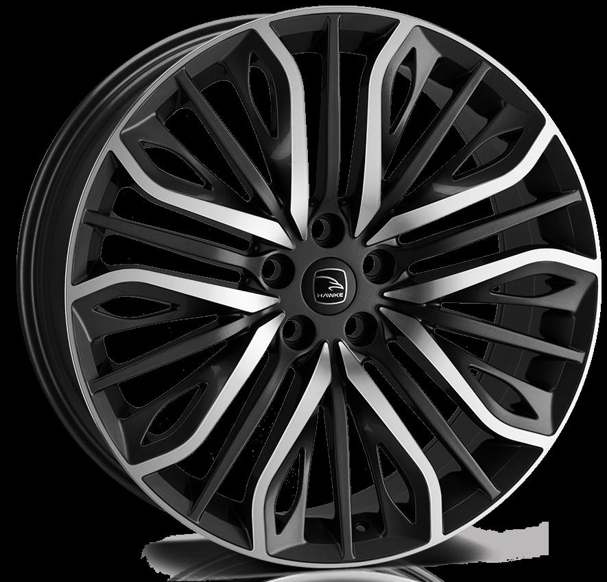 Hawke Wheels - Vega (Black Polish)