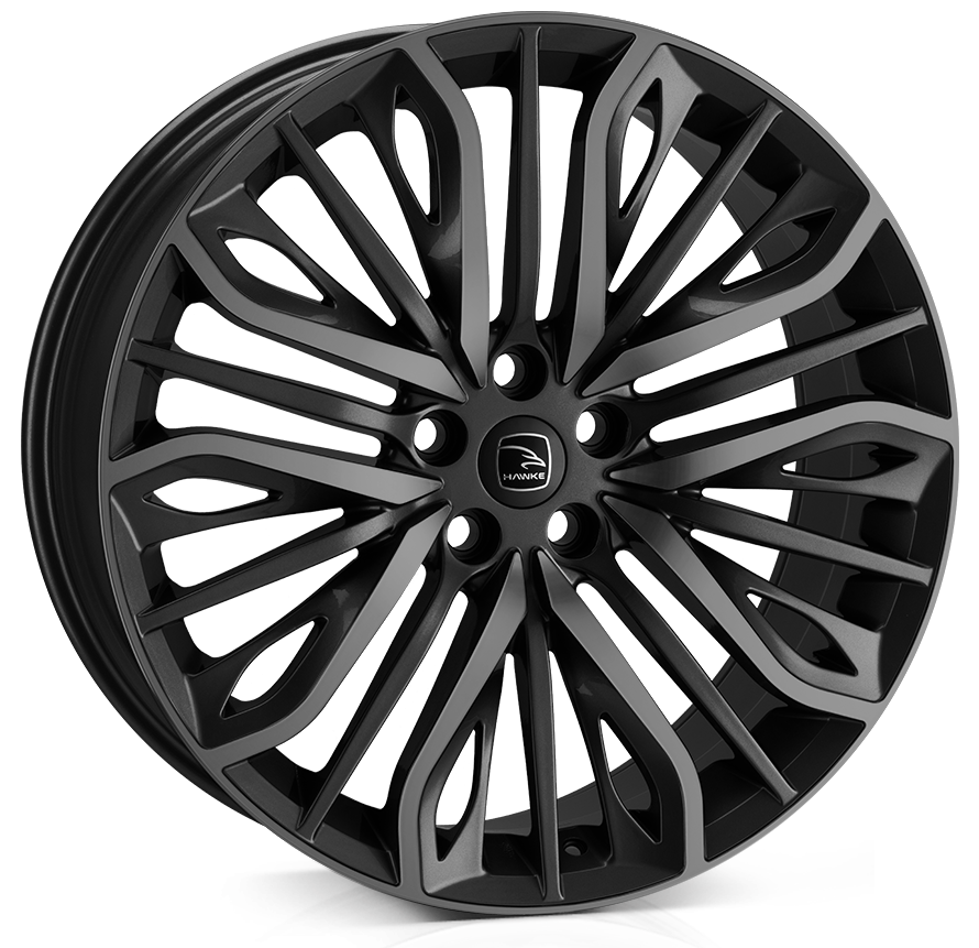 Hawke Wheels - Vega (Black Shadow)