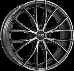 OZ - Italia 150 (Matt Dark Graphite Diamond Cut)