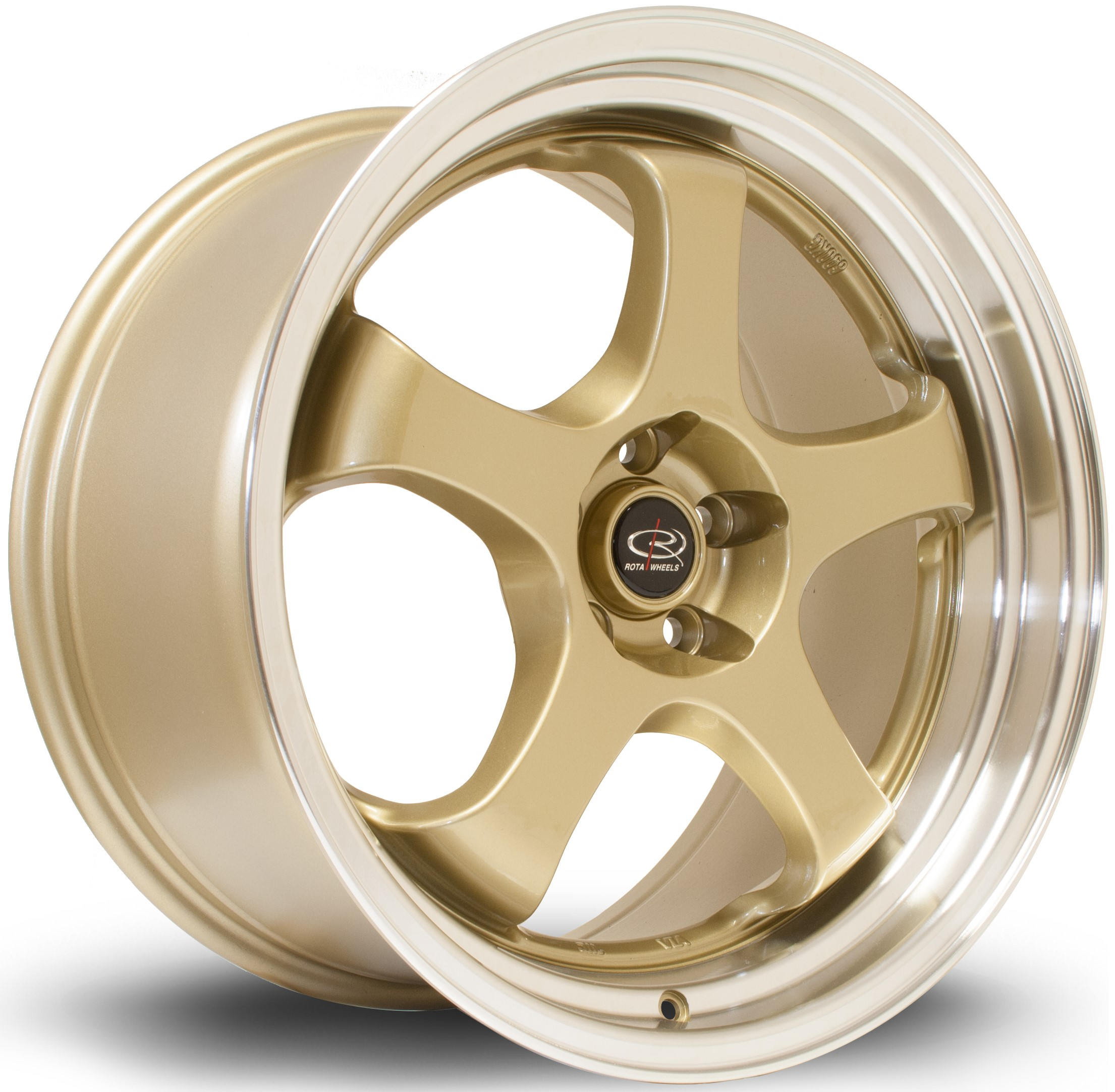 Rota - D2EX (Gold / Polished Lip)