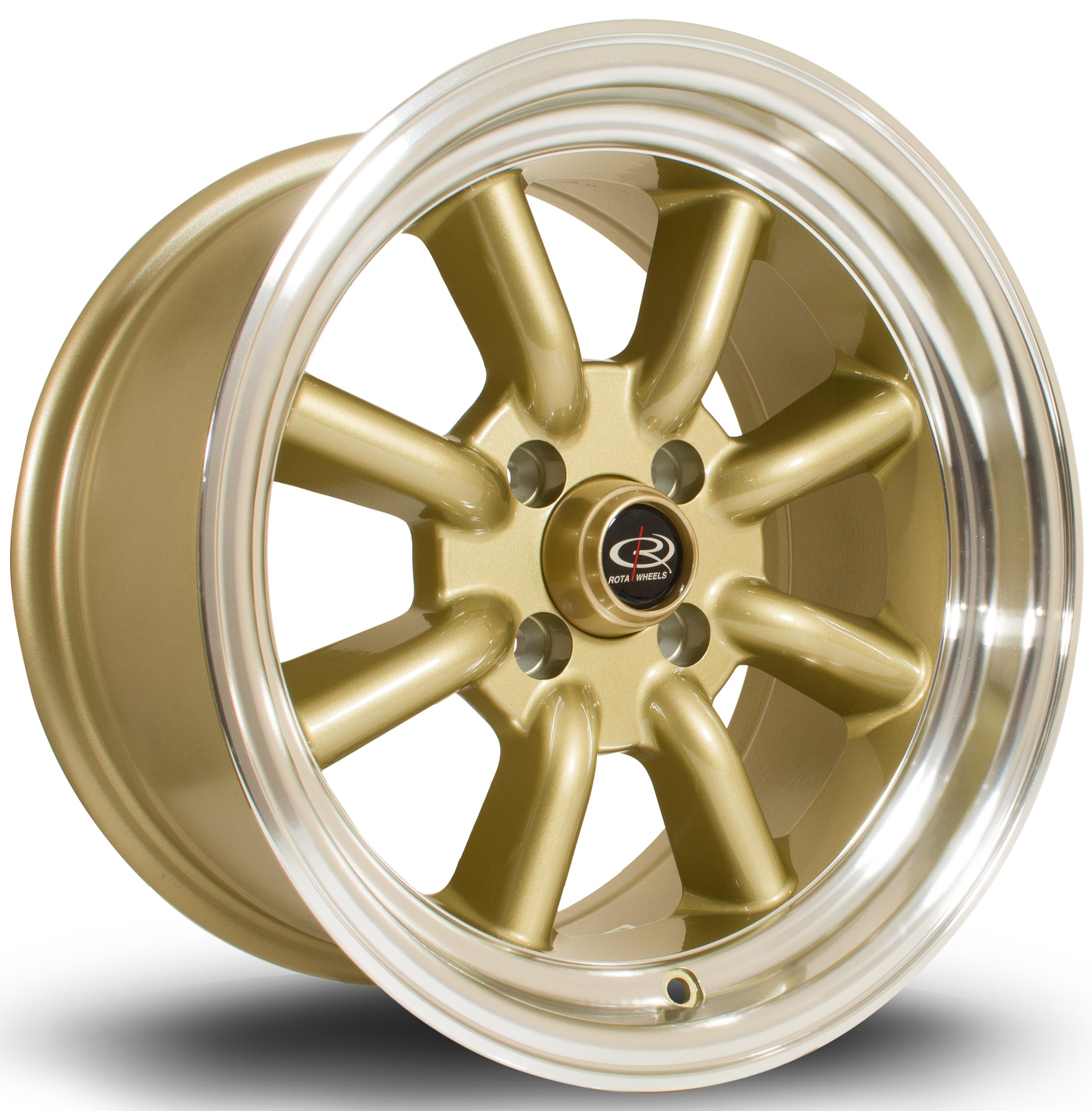 Rota - RKR (Gold / Polished Lip)