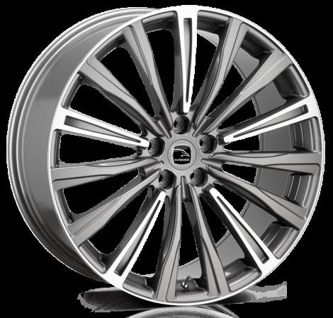 Hawke Wheels - Chayton (Gunmetal Highlighted)