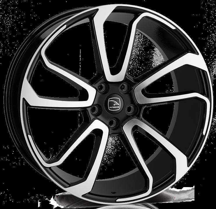 Hawke Wheels - Falkon (Black Polished)