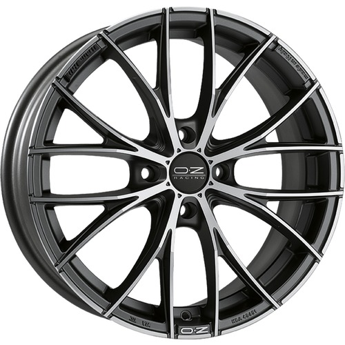 OZ - Italia 150 4F (Matt Dark Graphite Diamond Cut)