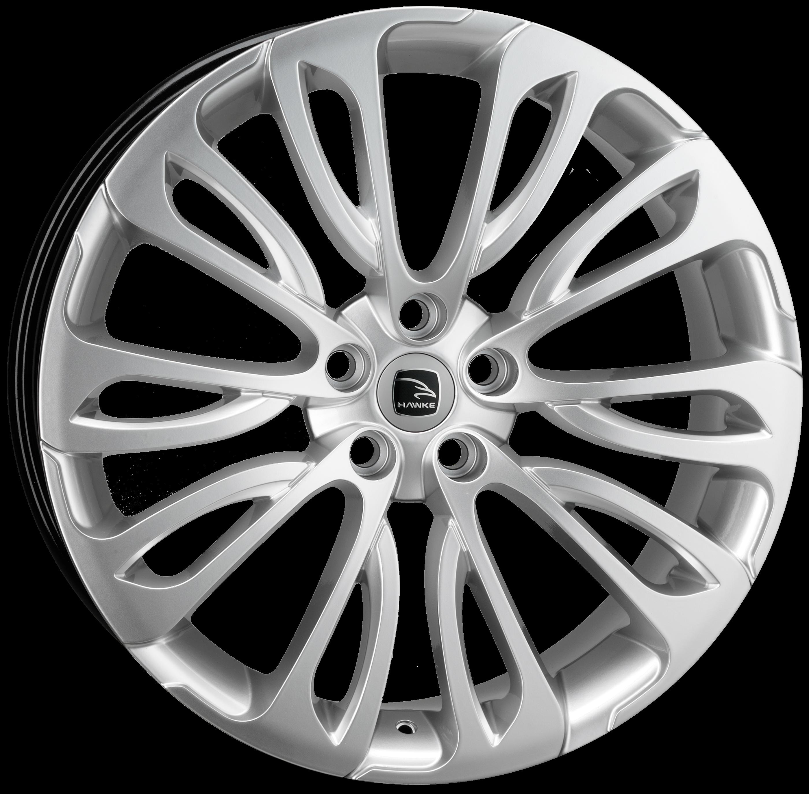 Hawke Wheels - Halcyon (Hyper Silver)