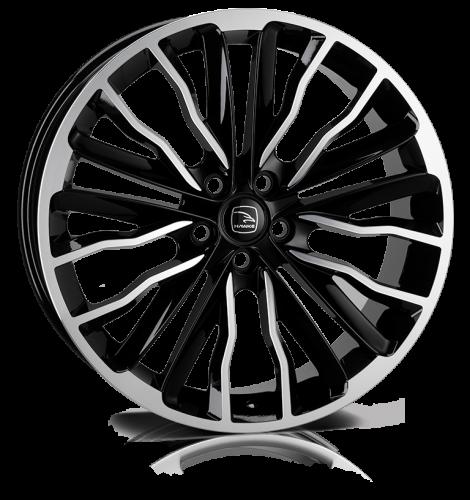 Hawke Wheels - Harrier (Black Polish)