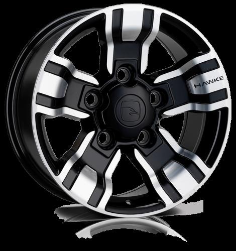 Hawke Wheels - Osprey (Black Polish)