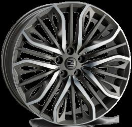 Hawke Wheels - Vega (Gunmetal Polish)