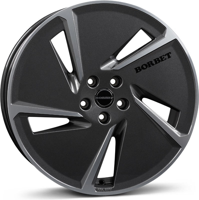 Borbet - AE (Mistral Anthracite Polished Glossy)