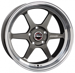 Borbet - DB8GT (graphite rim polished)