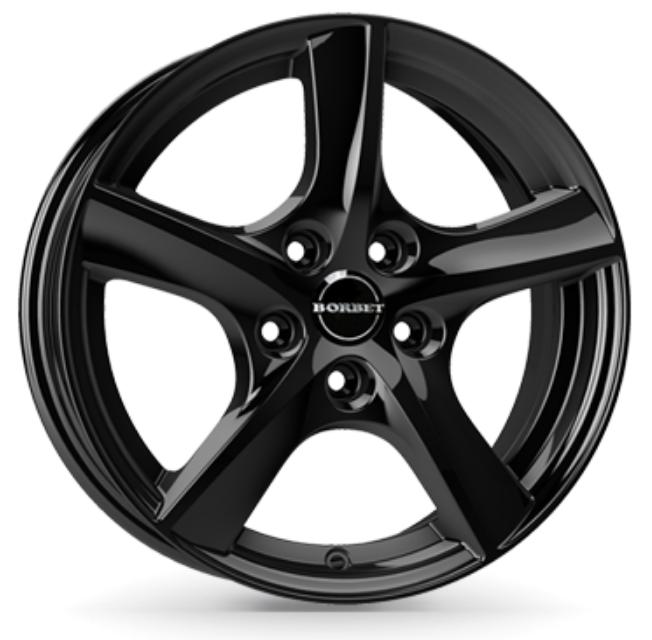 Borbet - TL 5-Speiche (black glossy)