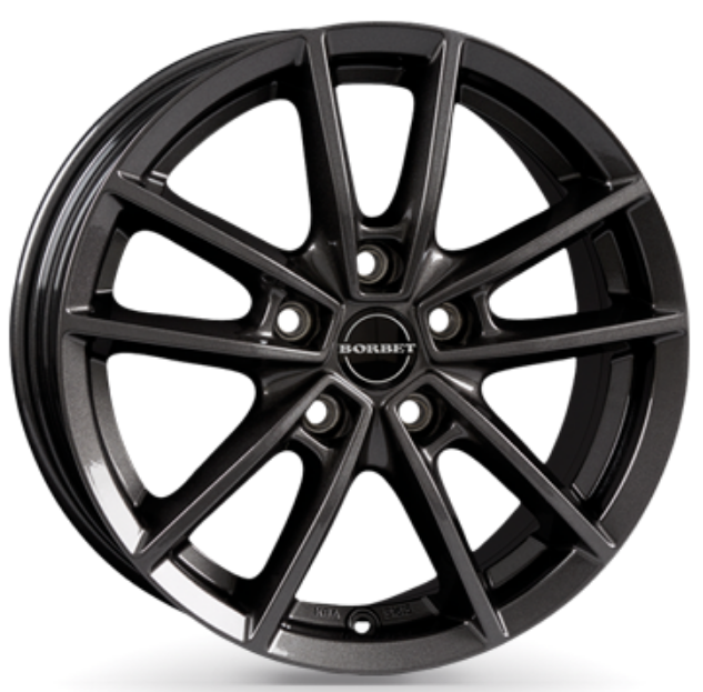 Borbet - W (mistral anthracite glossy)