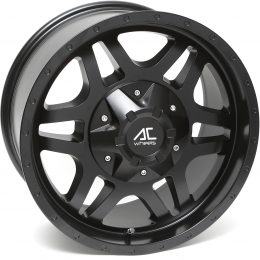 AC Wheels - SAVAGE (Matt Black)