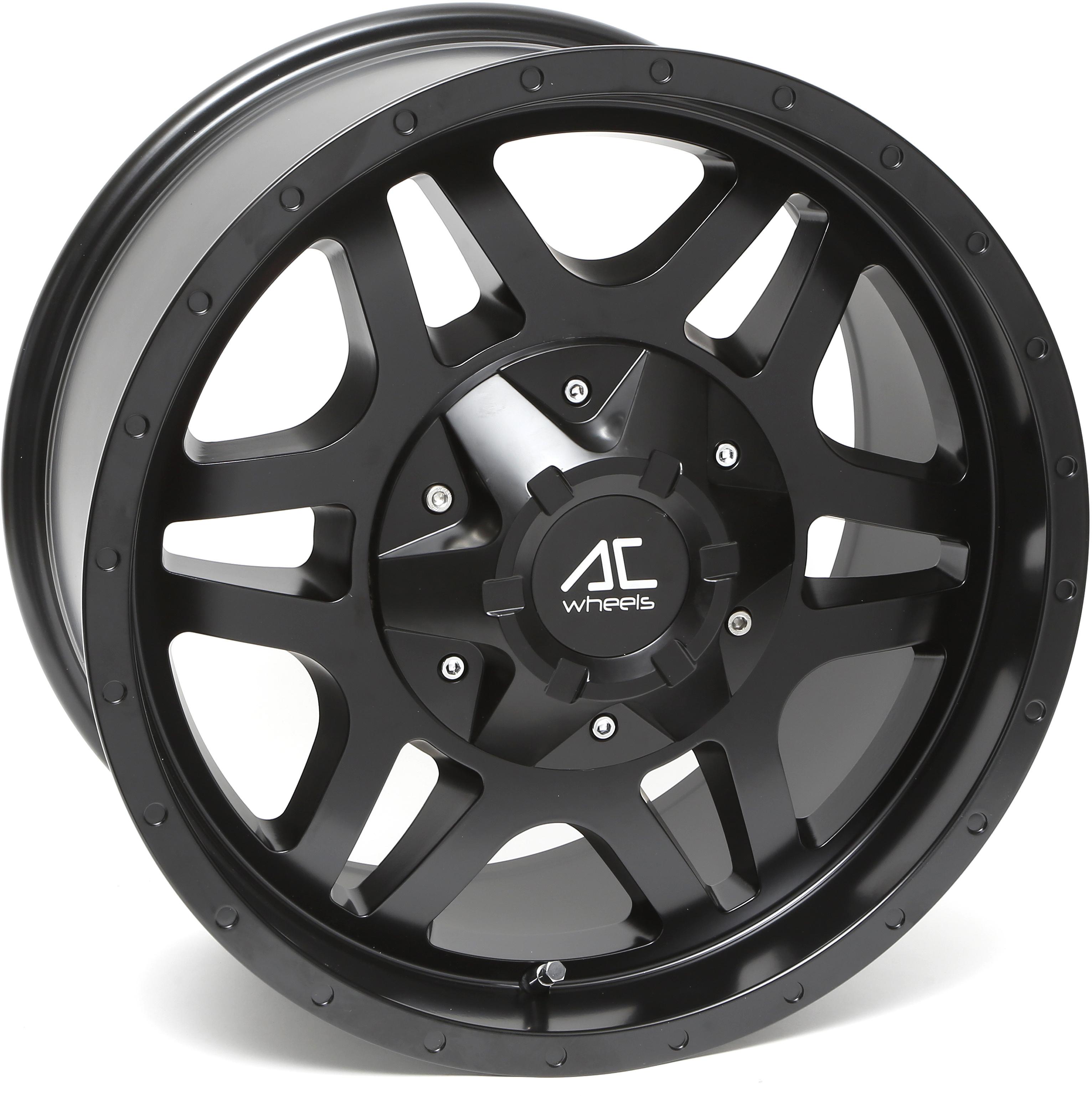 AC Wheels - SAVAGE (Matt Black)