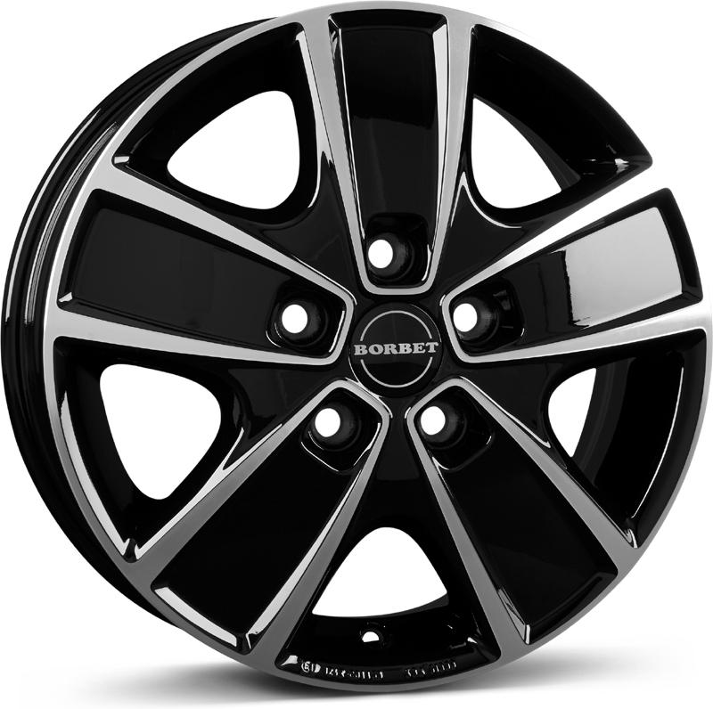Borbet - CWG (black Polished)