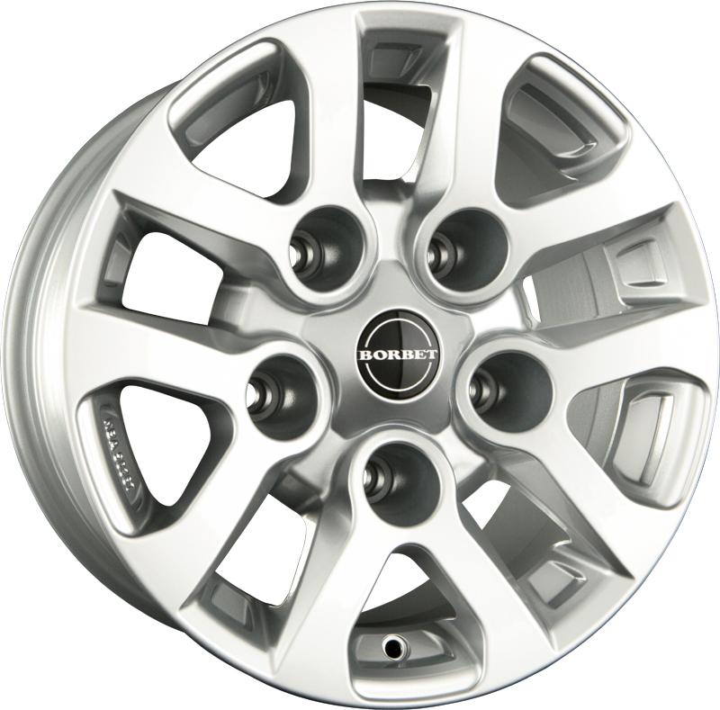 Borbet - LD (silver)