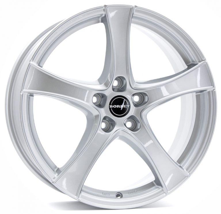 Borbet - F2 (Brilliant Silver)