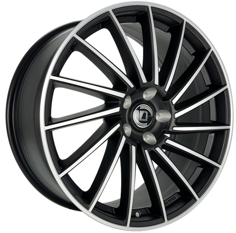 Diewe Wheels - Briosa (Black Machined)